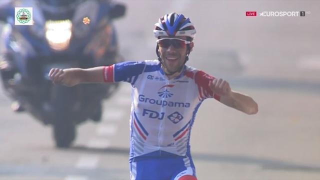 Giro de Lombardía: Imparable Thibaut Pinot cerrando una semana excepcional con su primer monumento