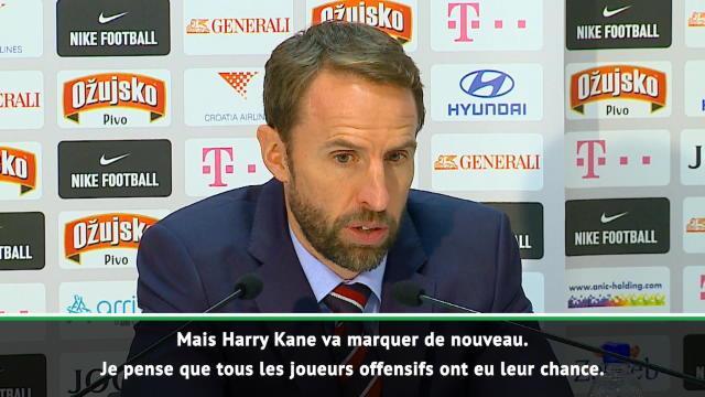 "Angleterre - Southgate : ""Kane va marquer de nouveau"""