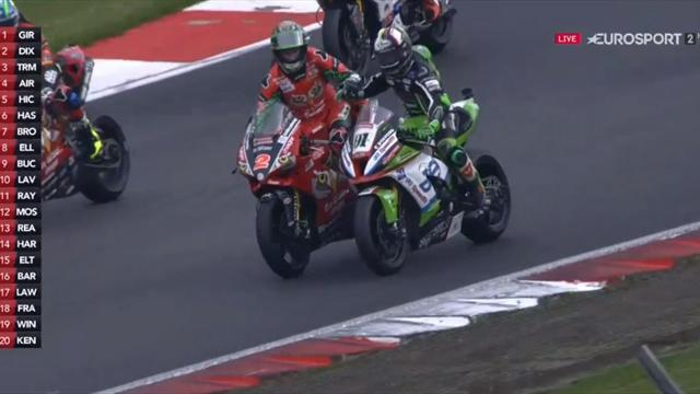Haslam clinches maiden BSB title!