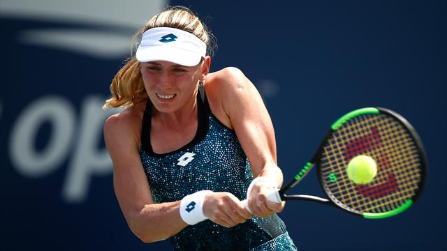 Giorgi rejoint Alexandrova en finale, van Uytvanck privée de finale — WTA Linz