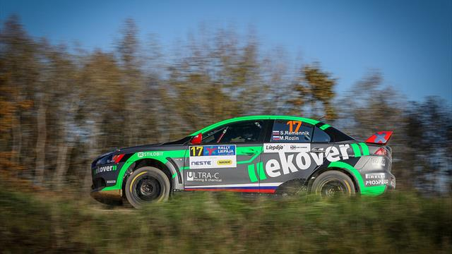 ERC2: Remennik takes on R5 rivals in Liepāja