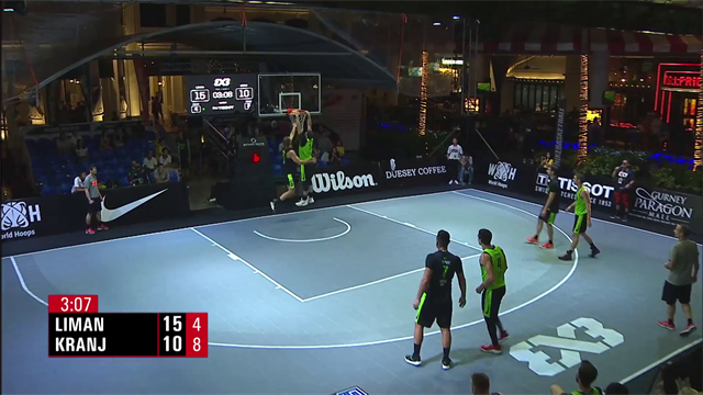 Sensational skills in 3x3 basketball: Top Five Plays