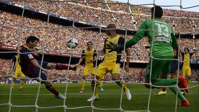 Un exculé revela las disculpas del árbitro del Barça-Atleti en el que perdieron la Liga de 2014