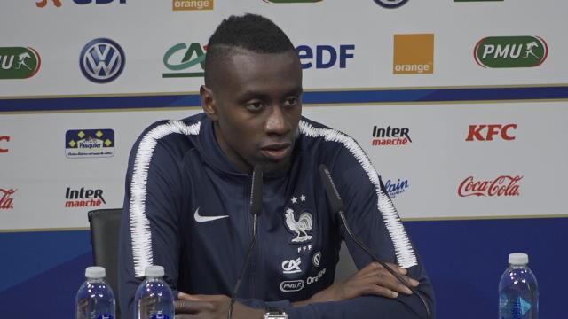 """Bleus - Matuidi : """"On a du mal face aux équipes regroupées"""""""