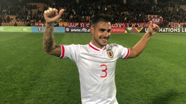 Gibraltar hace historia al lograr su primera victoria en partido oficial ante Armenia (0-1)