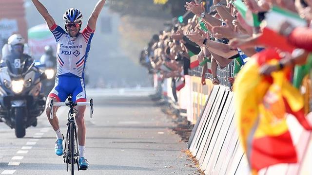 Pinot conquista su primer Il Lombardía y completa doblete con la Milán-Turín