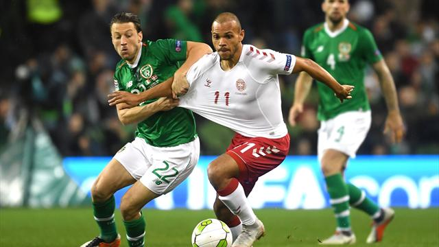 Republic of Ireland respond to Welsh woes with creditable draw against Denmark