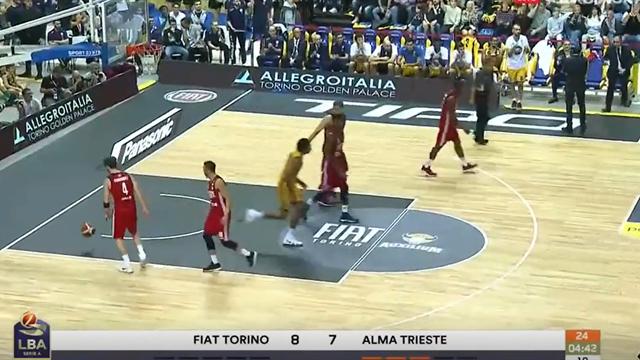 Highlights: Fiat Torino-Alma Trieste 86-74
