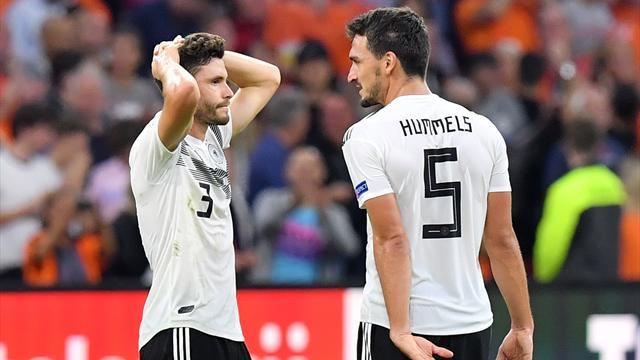 2018-й – худший год для Германии. А им еще играть с Россией
