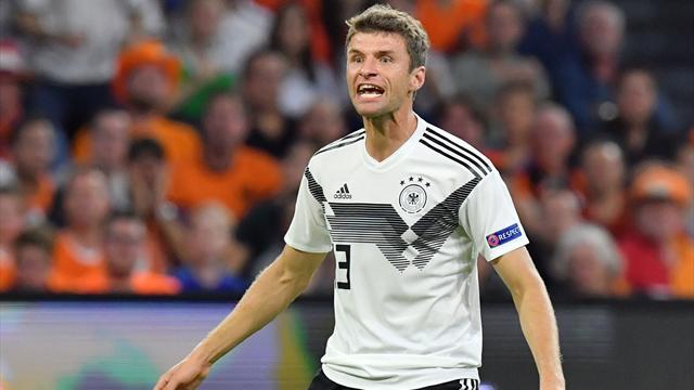DFB-Team in der Einzelkritik: Note 5 für Müller und Boateng