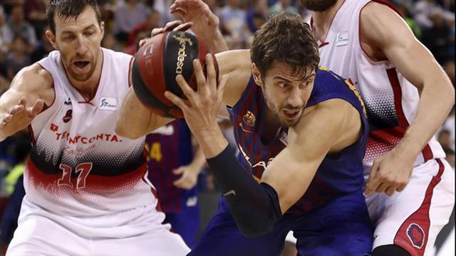 99-55. El Barcelona apaliza a un Zaragoza superado desde el salto inicial