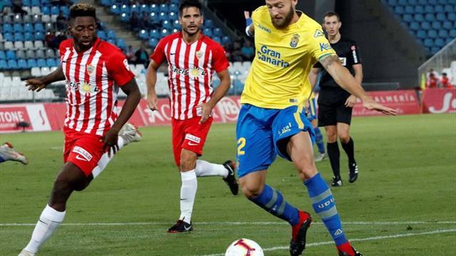 3-0. El Almería prolonga su racha en casa y ahonda la herida canaria
