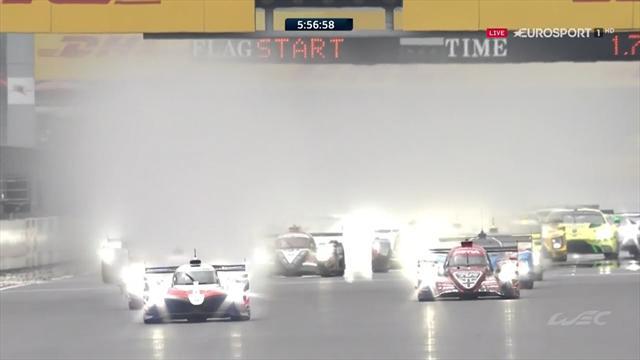 6 Horas de Fuji: Salida sin toques pese a la lluvia y el Toyota 8 se escapa