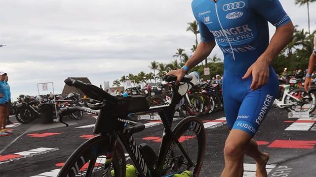 El alemán Lange repite título mundial de Ironman y récord en Hawai