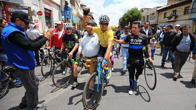 Sevilla gana, Chalapud y Guamá completan el podio de la Vuelta ciclística a Ecuador