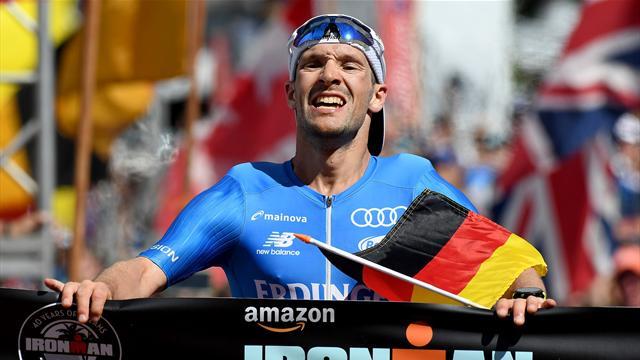 """Mit Video   """"Unglaublich"""": Lange gewinnt Ironman in unter acht Stunden"""
