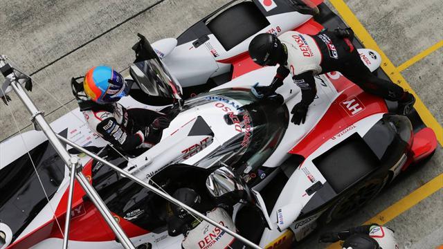Kobayashi, Conway and Buemi overhaul Alonso in Fuji