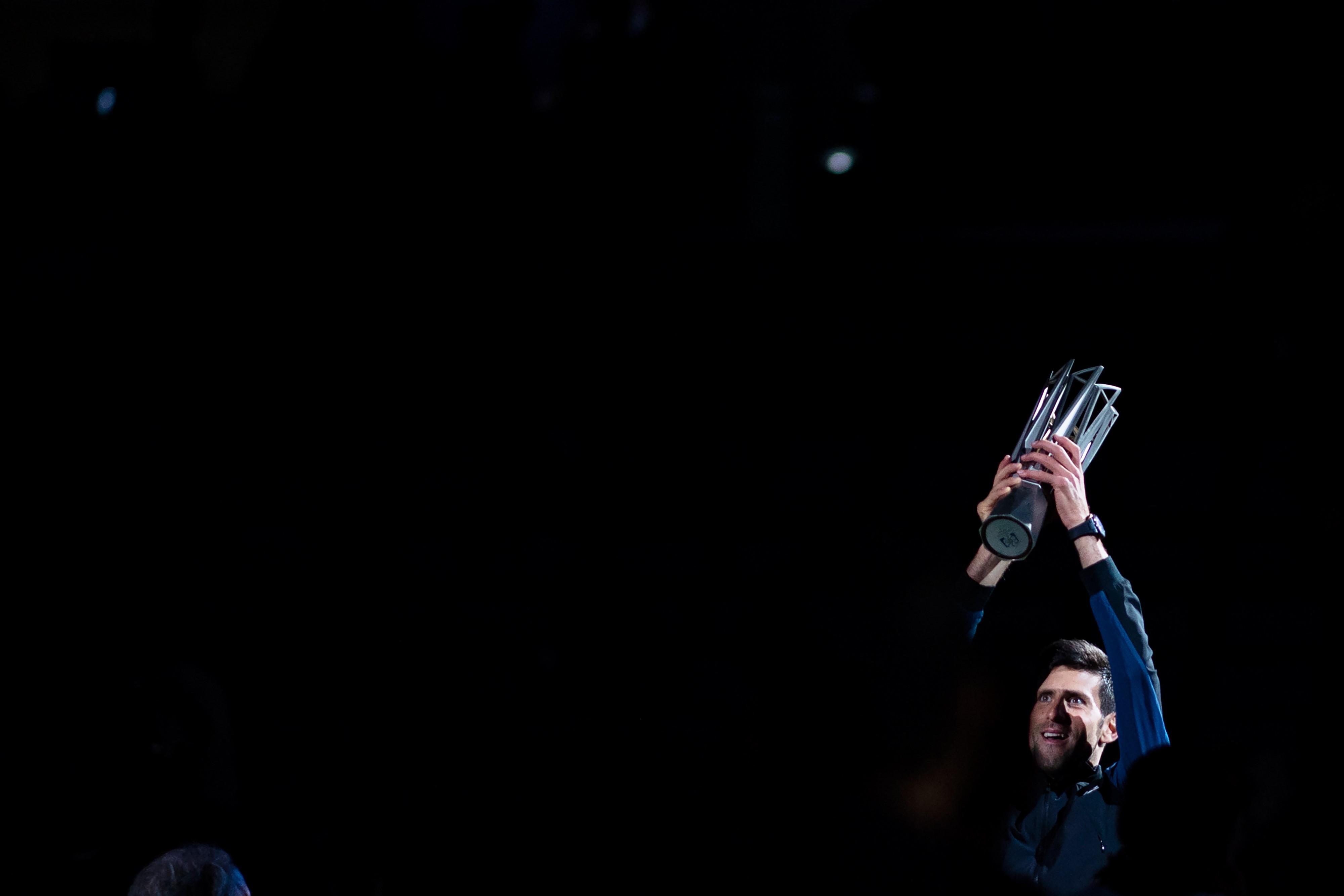 Novak Djokovic à Shanghaï
