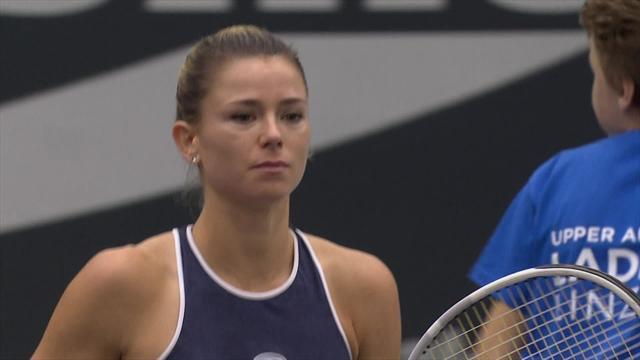 Giorgi wraps up convincing Linz final win