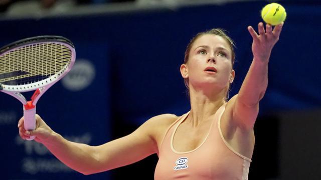 Giorgi n'a fait qu'une bouchée d'Alexandrova pour s'adjuger son deuxième titre