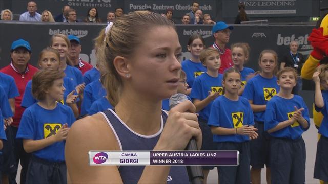 Match highlights: Giorgi bests Alexandrova