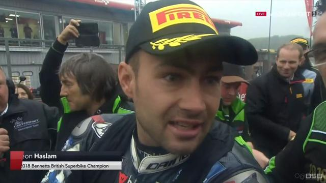 'I couldn't have asked for any more!'- Haslam reacts to title win after Race 3