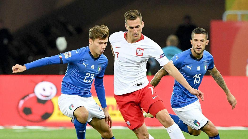 Nations League Last Minute Befreiungsschlag Italien Feiert Sieg