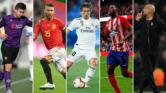 Gio Simeone, Ramos, Modric, Thomas y Guardiola, los nombres del día