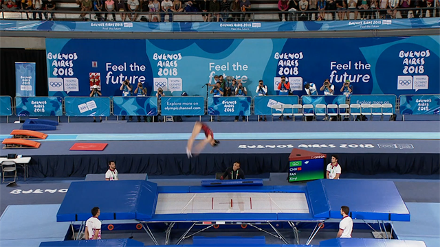 Youth Olympics Games: Trampoline highlights