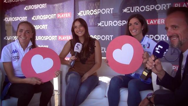 """Eurosport a """"Il Festival dello Sport"""": una parata di campioni a Trento"""
