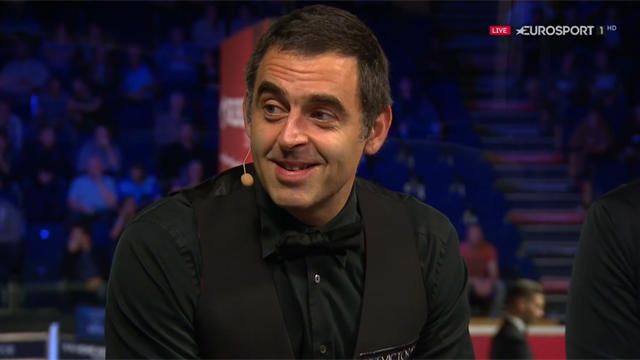 O'Sullivan reflects on 147 in Eurosport studio
