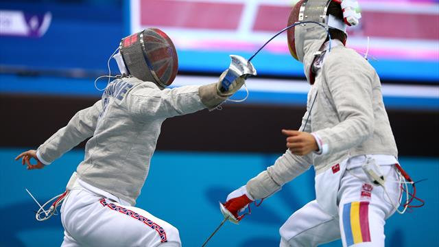British duo Honeybone and Webb collect men's sabre bronze at Leon Paul Cup in London
