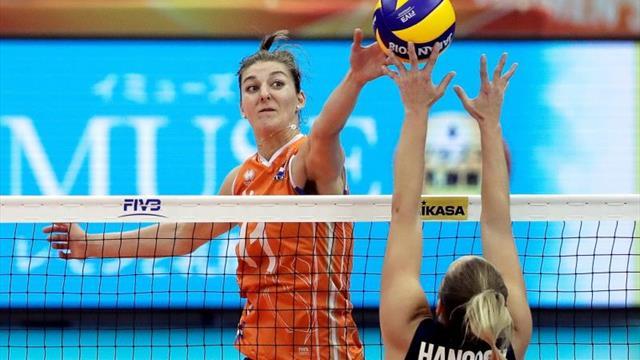 Triunfo Holanda (3-2) deja a E.Unidos fuera de las medallas