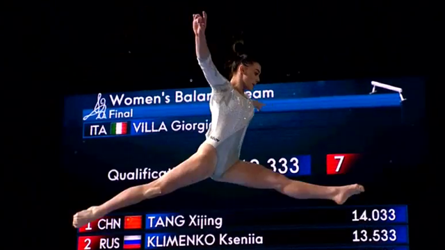 Giorgia Villa, la ginnasta del futuro che ha dominato le Olimpiadi giovanili