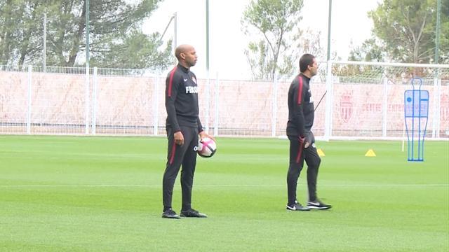 Así fue el primer entrenamiento de Henry como entrenador del Mónaco