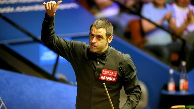 O'Sullivan beats Zhou to reach quarter-finals of Northern Ireland Open