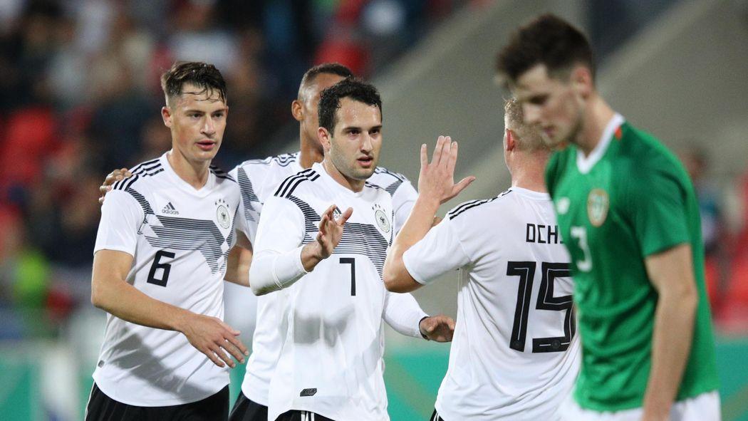 U21 Em Qualifikation Deutschland Mit Souveranem Dreier Zum