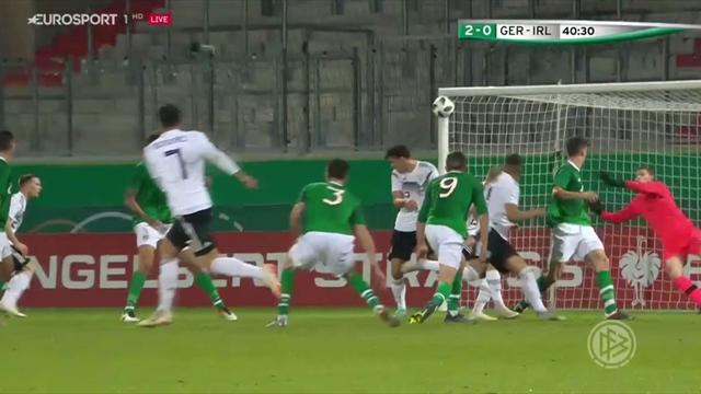 Clasificación Europeo Sub 21, Alemania-Irlanda: Los campeones no fallan (2-0)