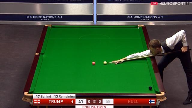 Trump's naughty snooker