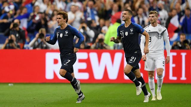 Les notes des Bleus : Griezmann – Hernandez, duo en or