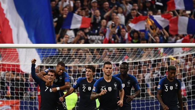 Griezmann et les Bleus enterrent l'Allemagne