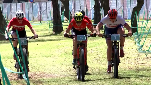 Cyclo-cross highlights at Youth Olympic Games