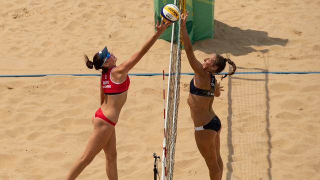 Russia beat Italy for women's beach volleyball gold in Youth Olympic Games