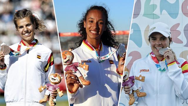 La esperanzadora María Vicente y más promesas españolas: nueve medallas en los Juegos de la Juventud