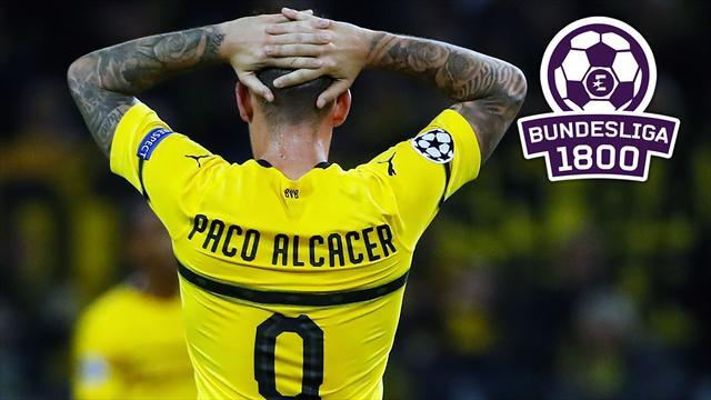 Bundesliga 1800 #33: Darum wird Alcácer nicht Torschützenkönig