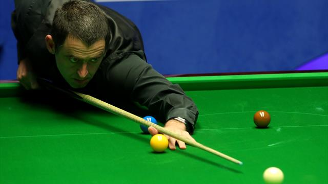 O'Sullivan seals frame with outrageous swerve shot