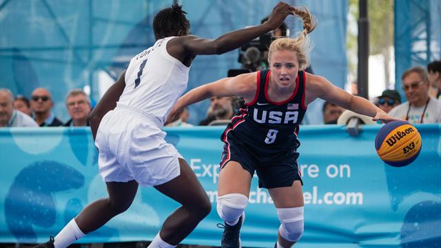 Youth Olympic Games: USA beats France to gold in 3x3 women's final