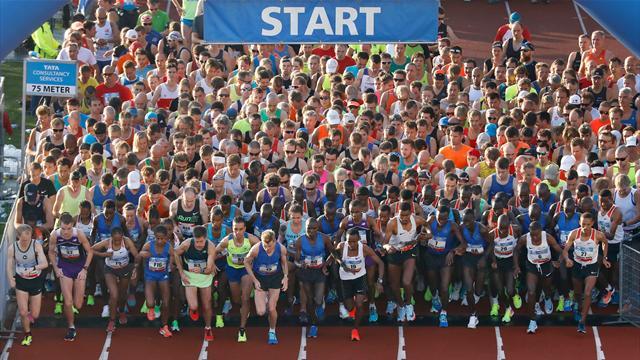 Los mejores atletas se dan cita en el Maratón de Ámsterdam, en Eurosport 2