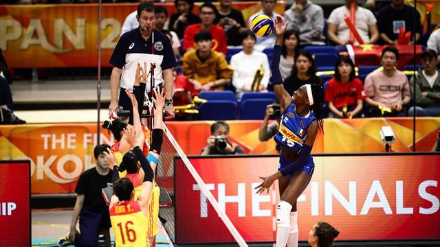Paola Egonu, sei nella storia: i 45 punti contro la Cina sono un record!