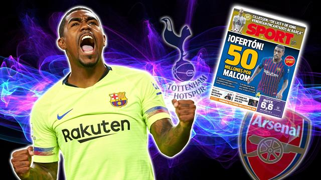 Transfer Focus: Spurs lead Arsenal in battle for €50m Barca star